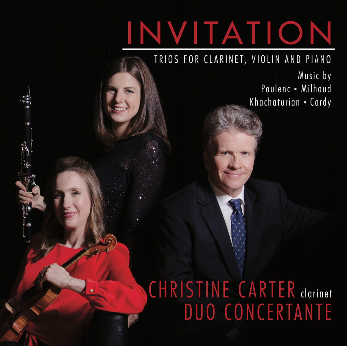 Invitation: Trios for Clarinet, Violin, and Piano