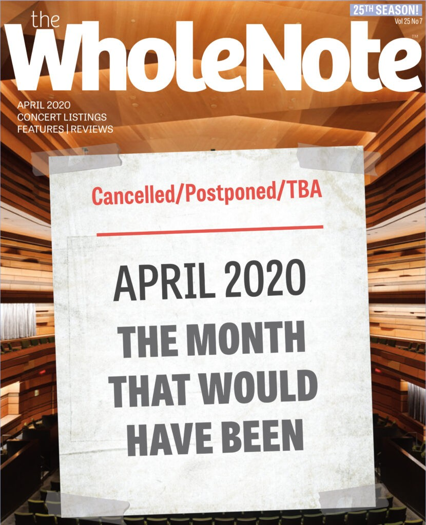 WholeNote Cover